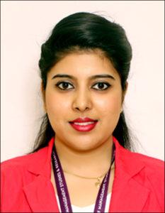 Ms. Archana Naidu - Receptionist